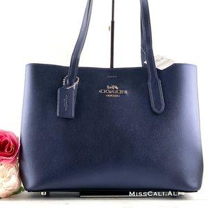 NWT COACH Avenue Carryall Blue Tote Crossbody Bag